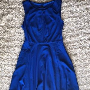 Royal Blue Keyhole Dress